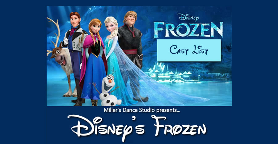 Frozen cast list