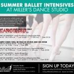 Register Now for the Summer Dance Intensives