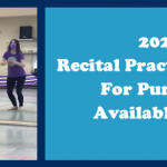 RECITAL PRACTICE VIDEOS AVAILABLE NOW
