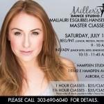 Don't Miss Mallauri Esquibel-Hansen's Master Classes