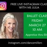 Free Live Instagram Class with Ms Julia