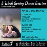 8 WEEK SPRING DANCE SESSIONS